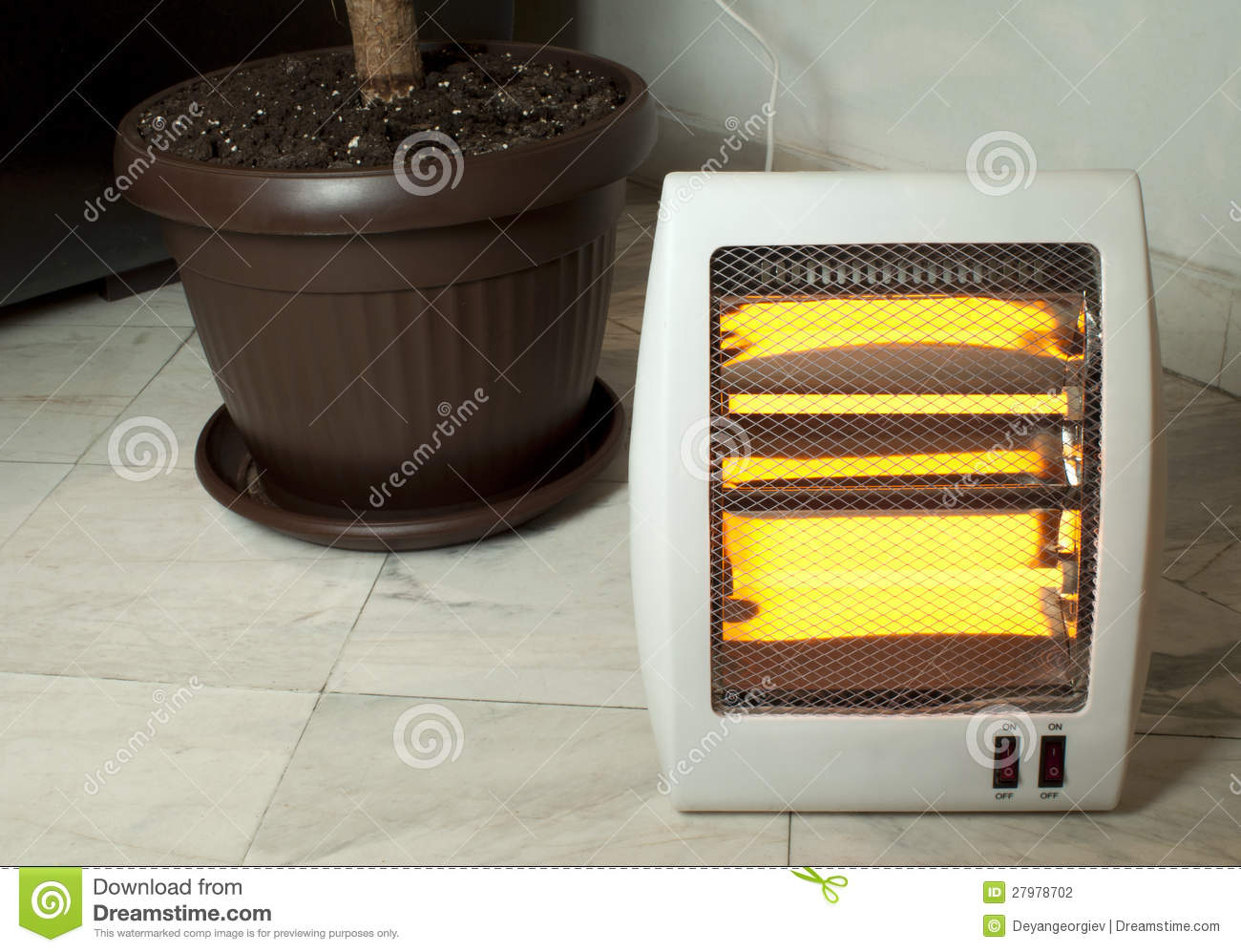 Electric Heater Stock graphy Image