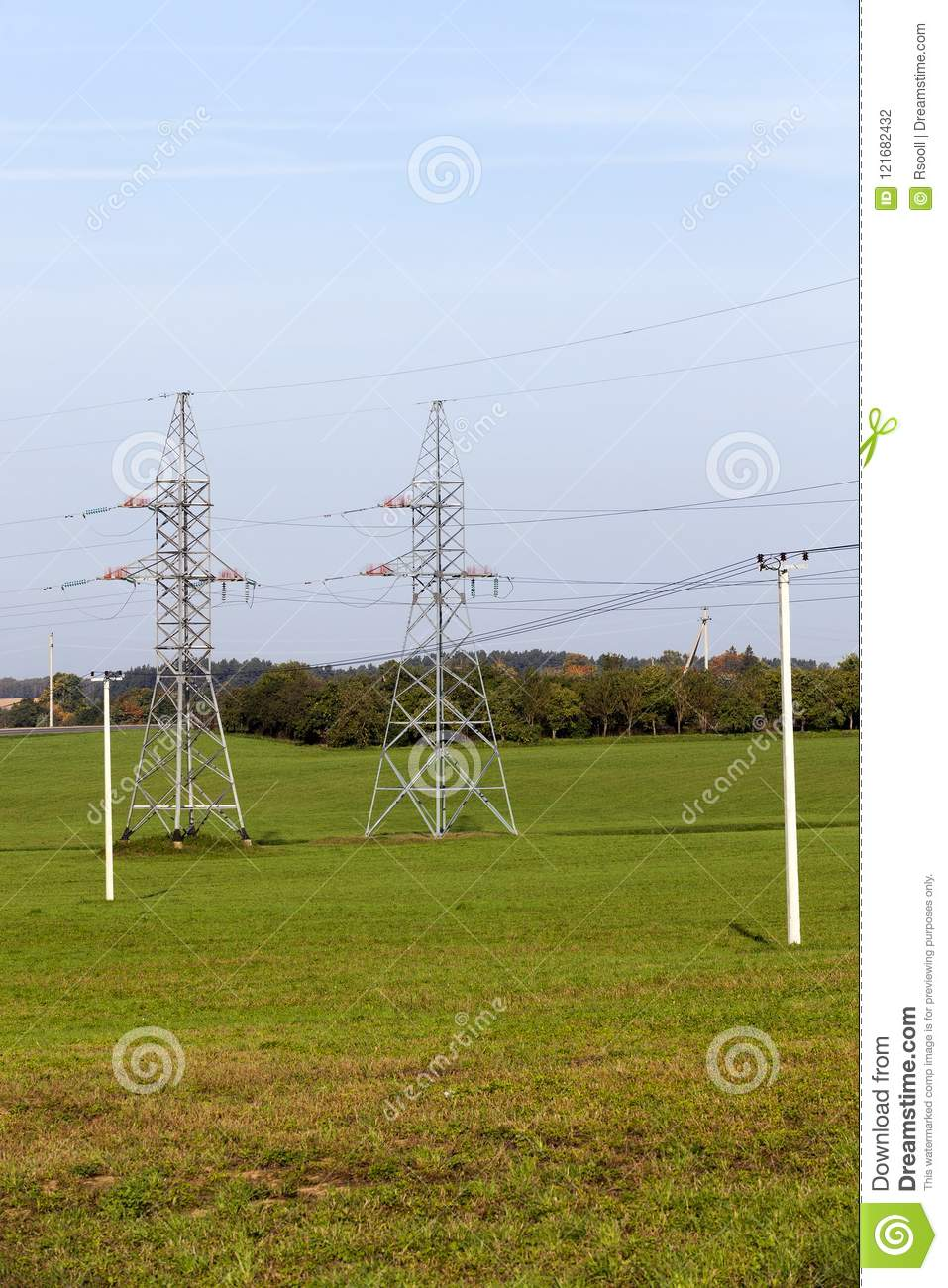 High-voltage pylons