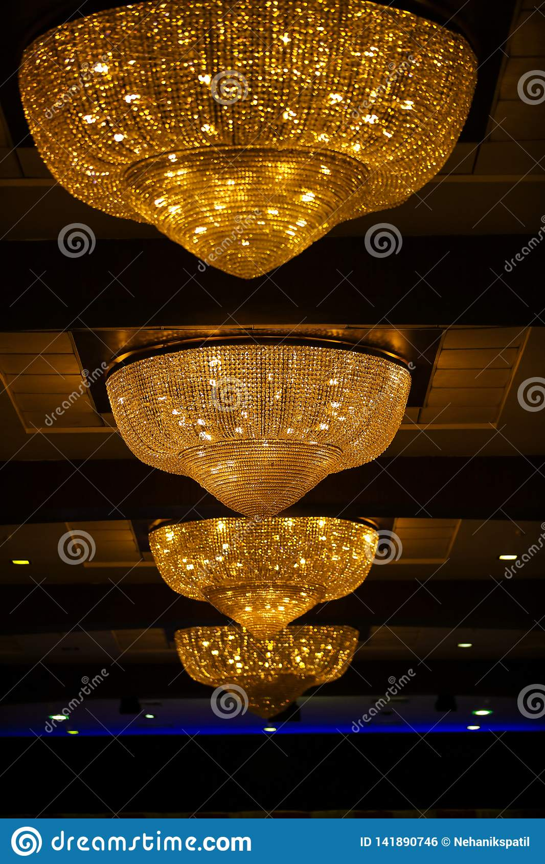 Electric Jhumar In Home Decore Stock Photo Image Of