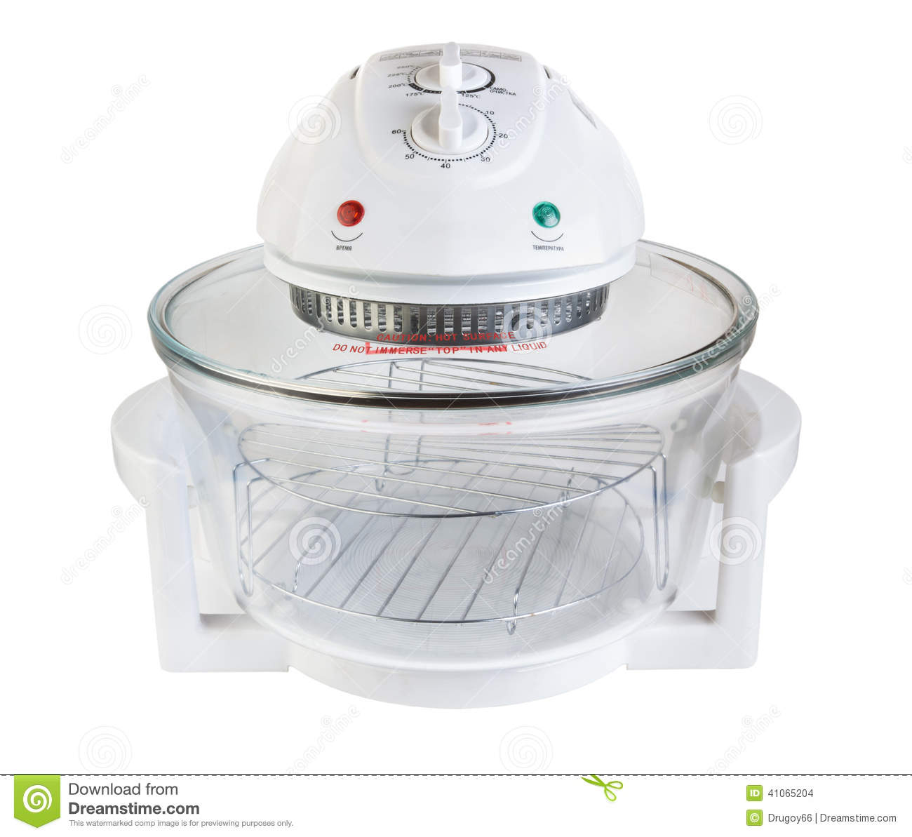 Electric Kitchen Appliance ~ Electric kitchen appliance aerogrill stock photo image