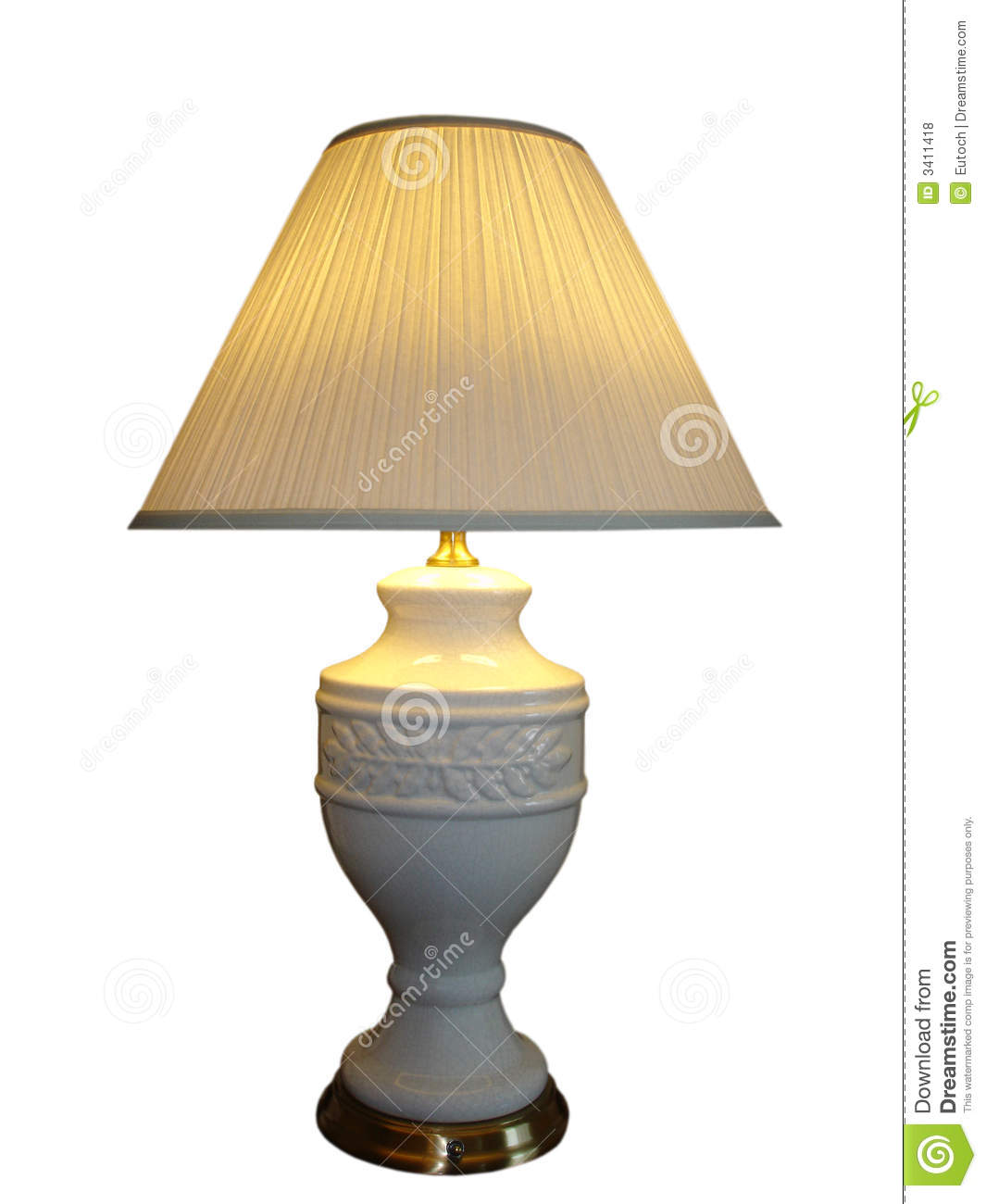 Electric Lamp Royalty Free Stock Photos Image 3411418