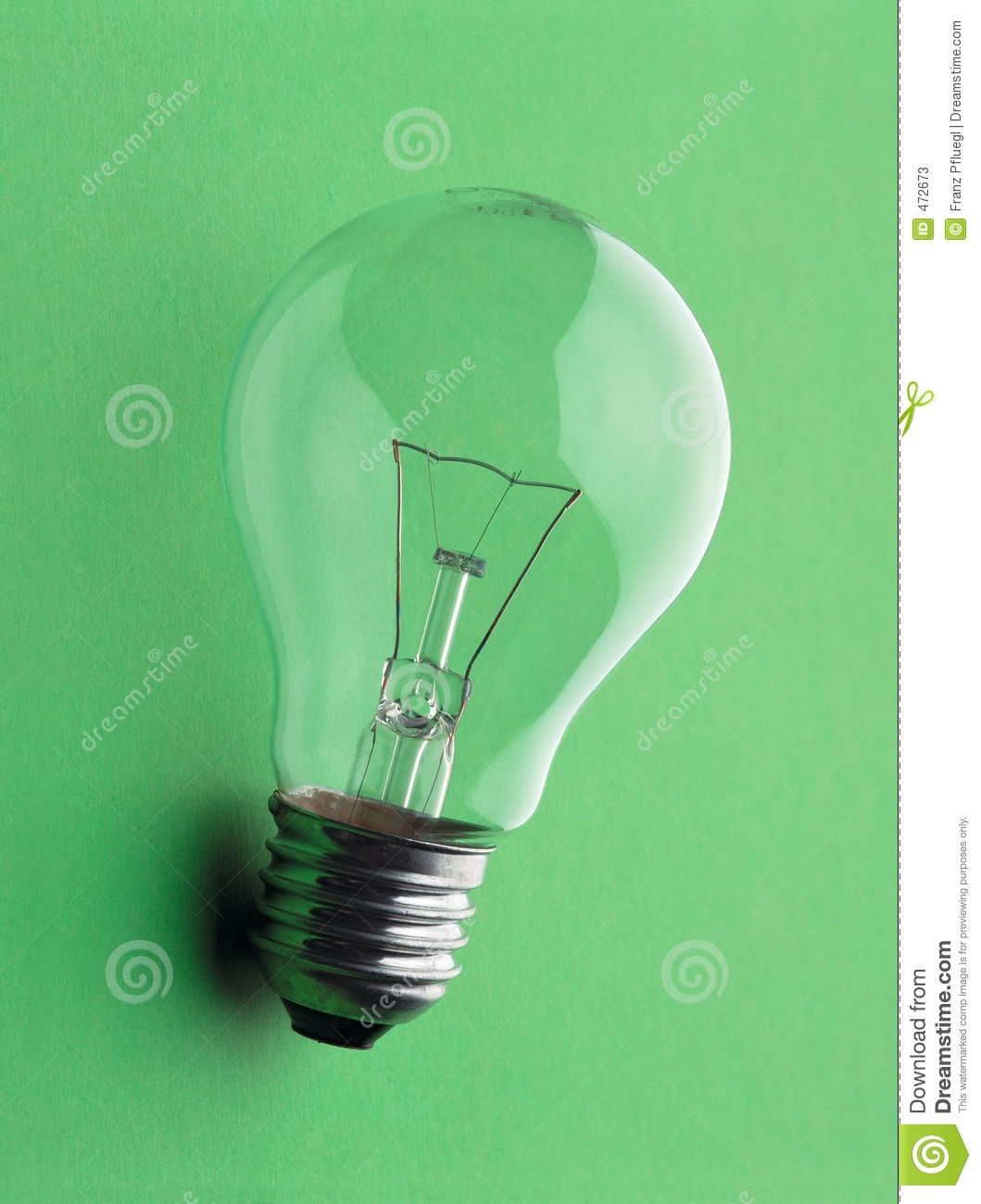 Download Electric lamp stock image. Image of clear, think, pfluegl - 472673