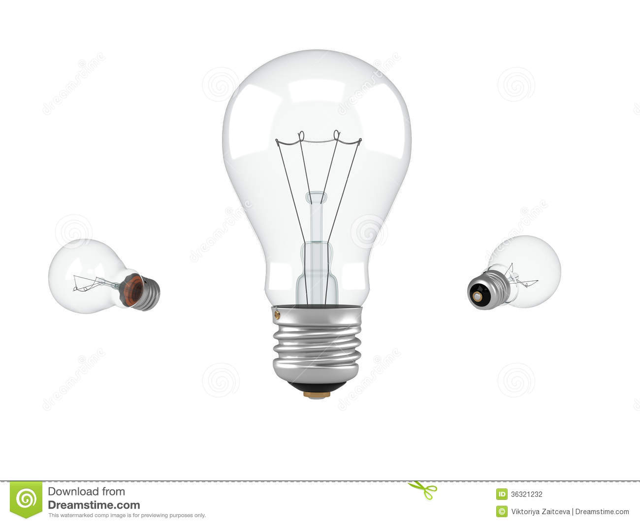Electric Lamp Stock Photography Image 36321232
