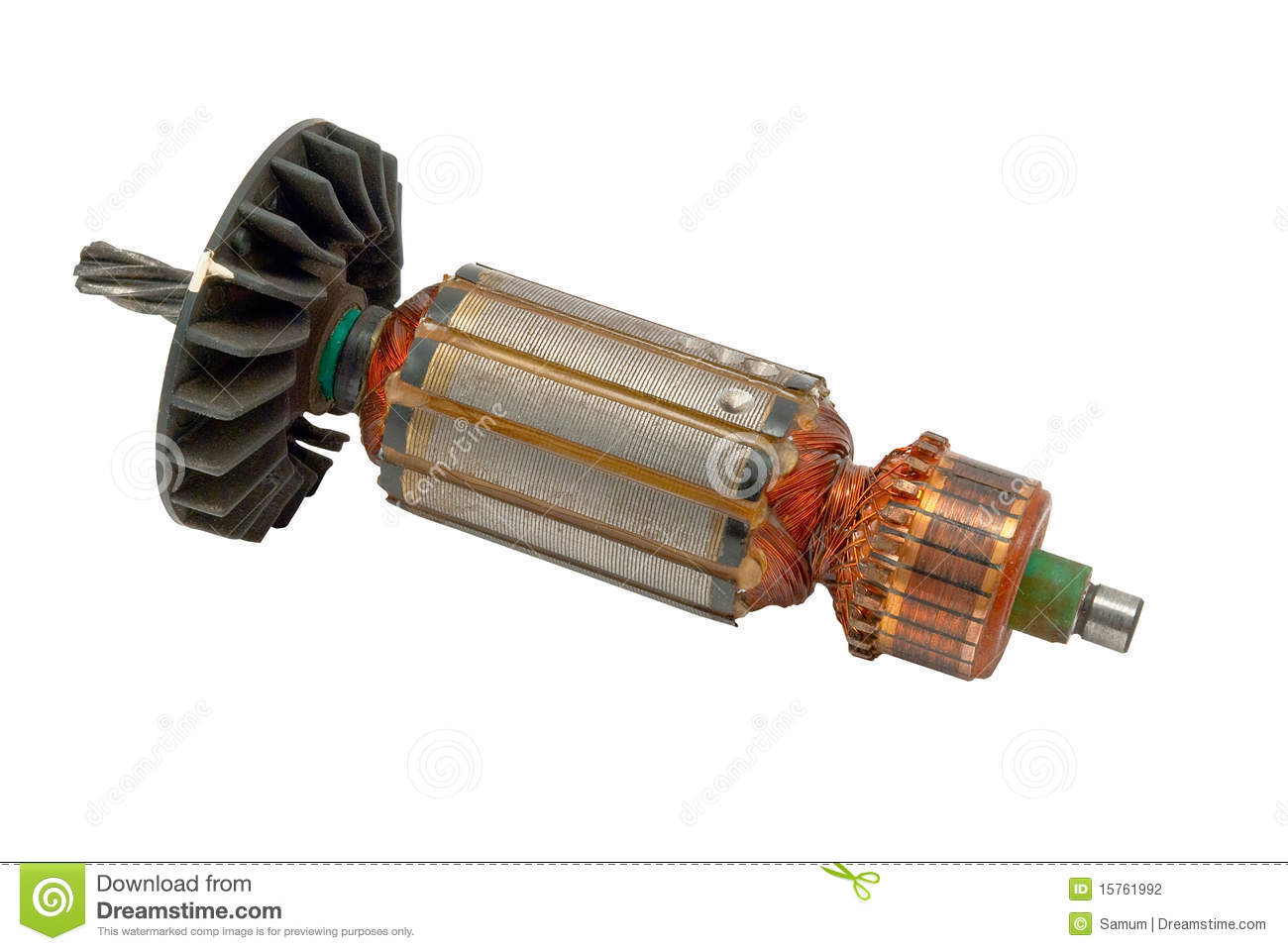 Electric Motor Rotor Stock Photo Image Of Grey Magnetism