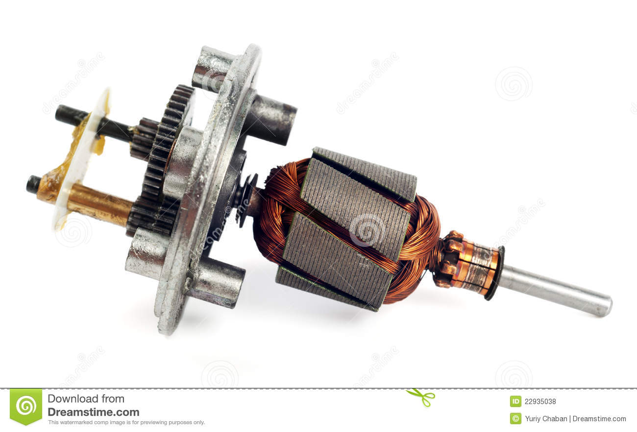 Electric Motor Rotor Royalty Free Stock Photos Image
