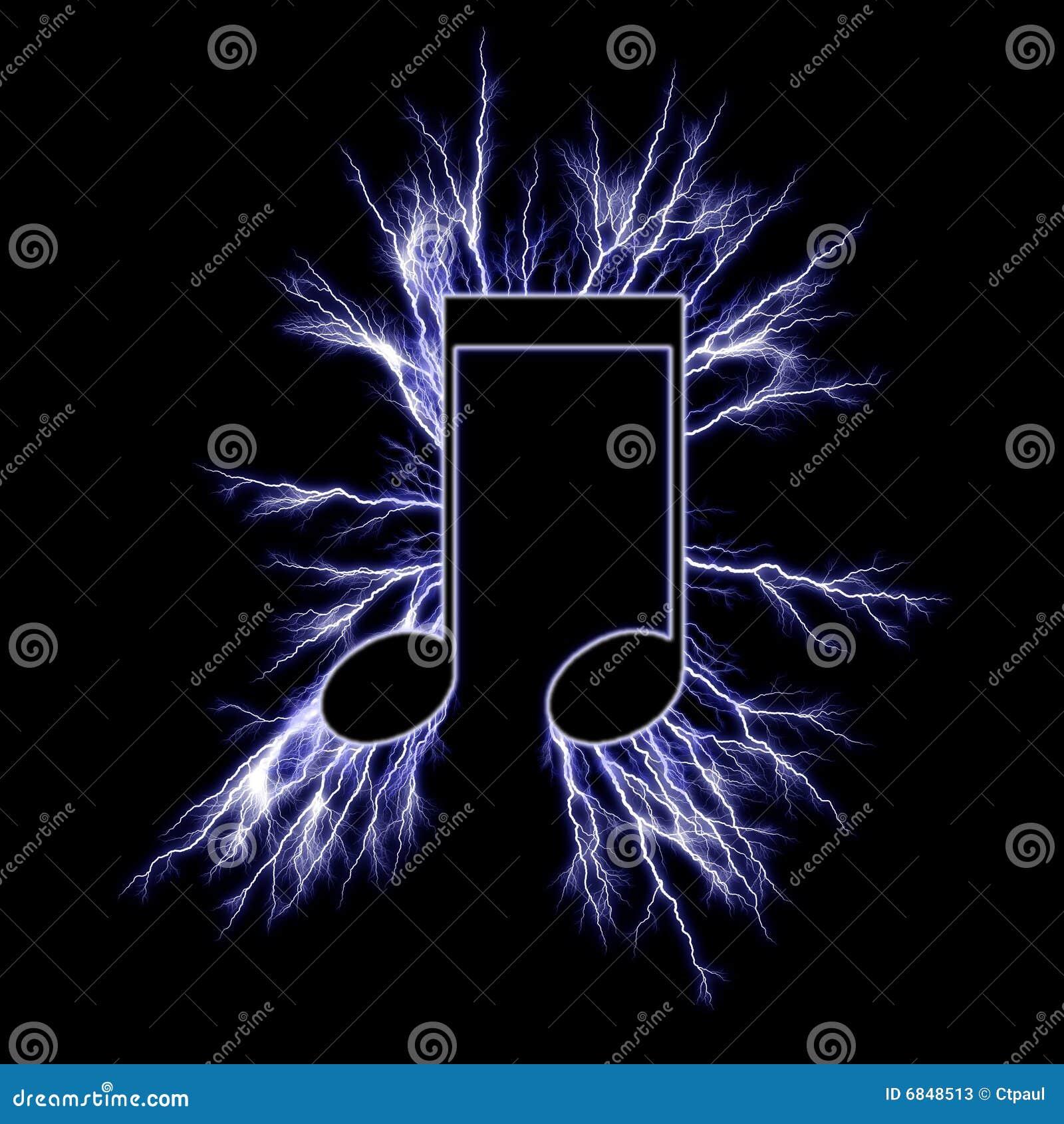 music electric symbol power dreamstime