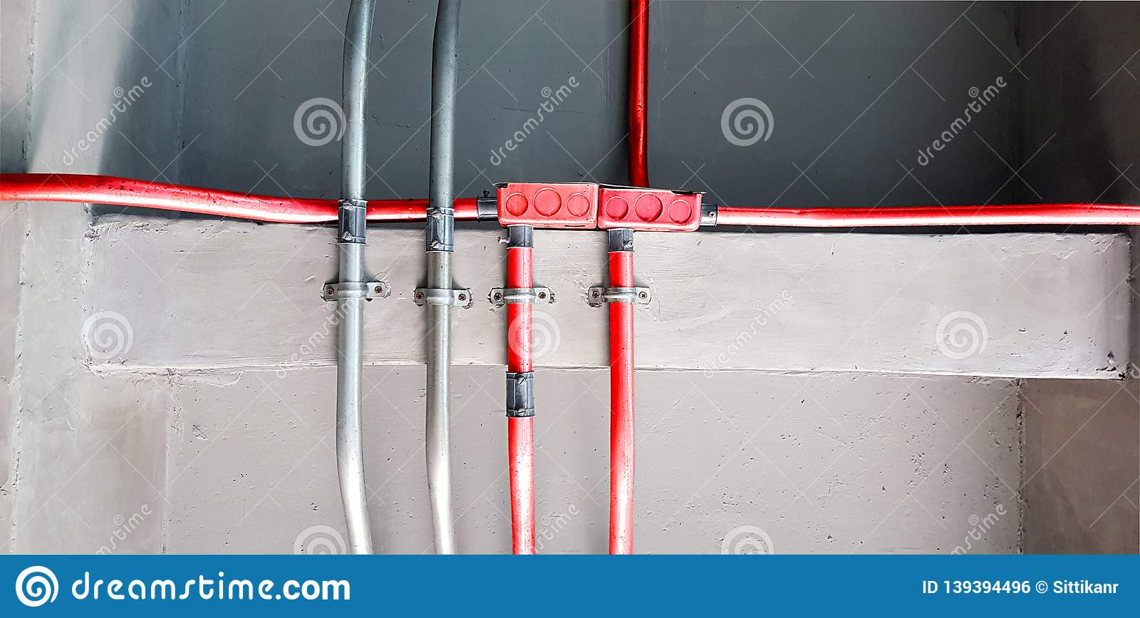 Miraculous Electric Pipes And Red Electric Pipes For Safety Systems In Building Wiring 101 Orsalhahutechinfo