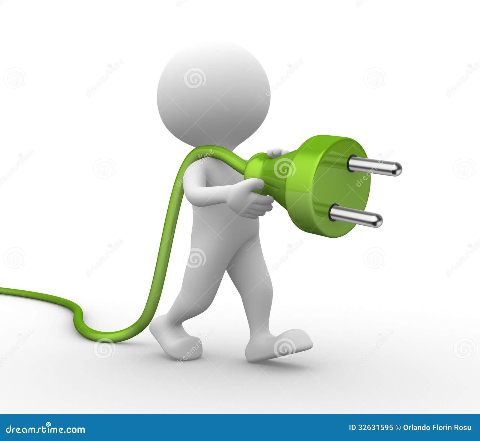 Electric Plug Royalty Free Stock Photo - Image: 32631595