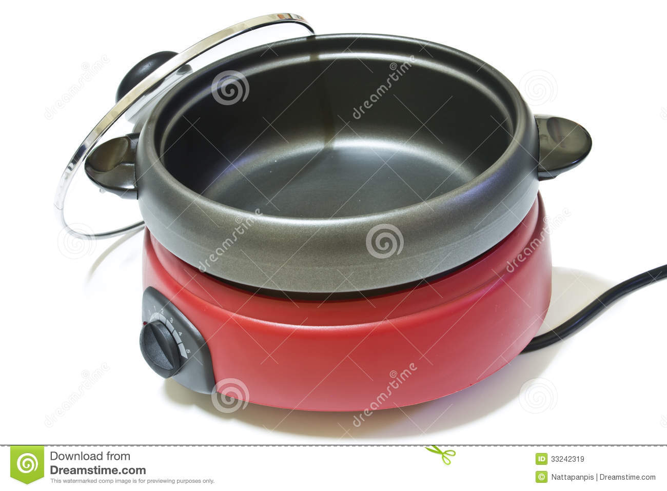 Electric Stock Pot ~ Electric pot royalty free stock images image