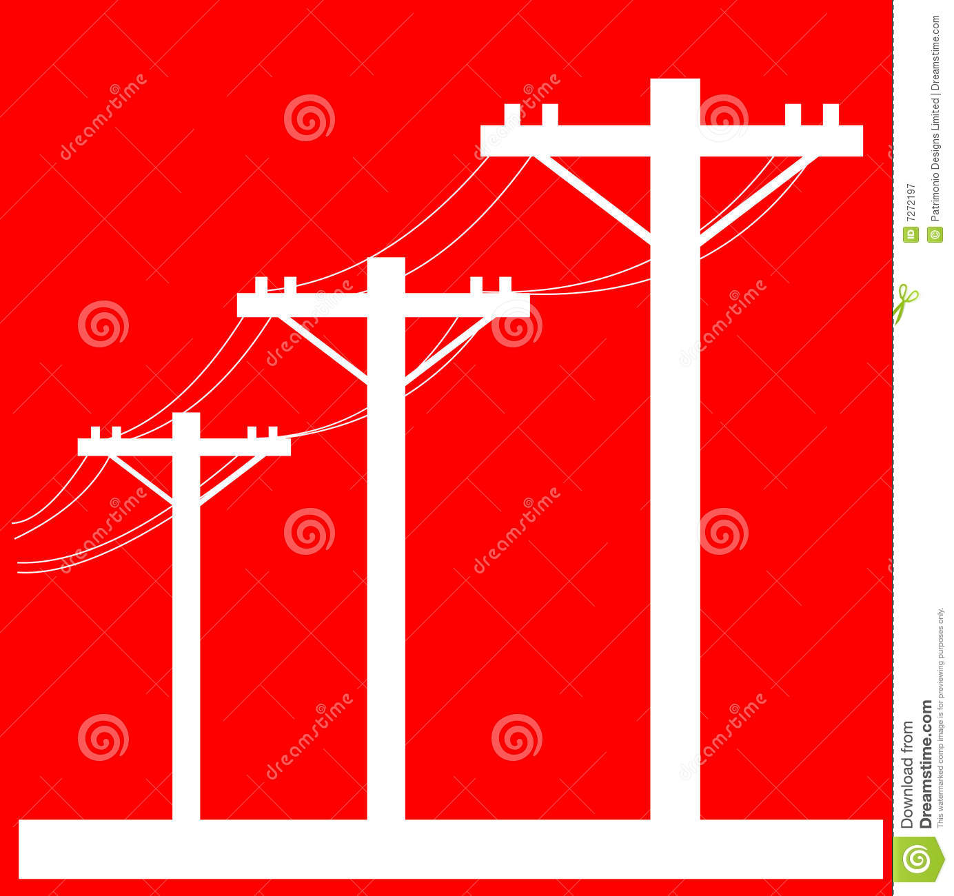Electric power line post stock illustration illustration of post electric power line post biocorpaavc
