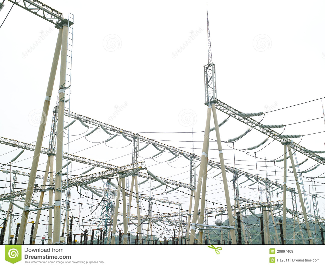 Electric Power Station Royalty Free Stock Images - Image ...