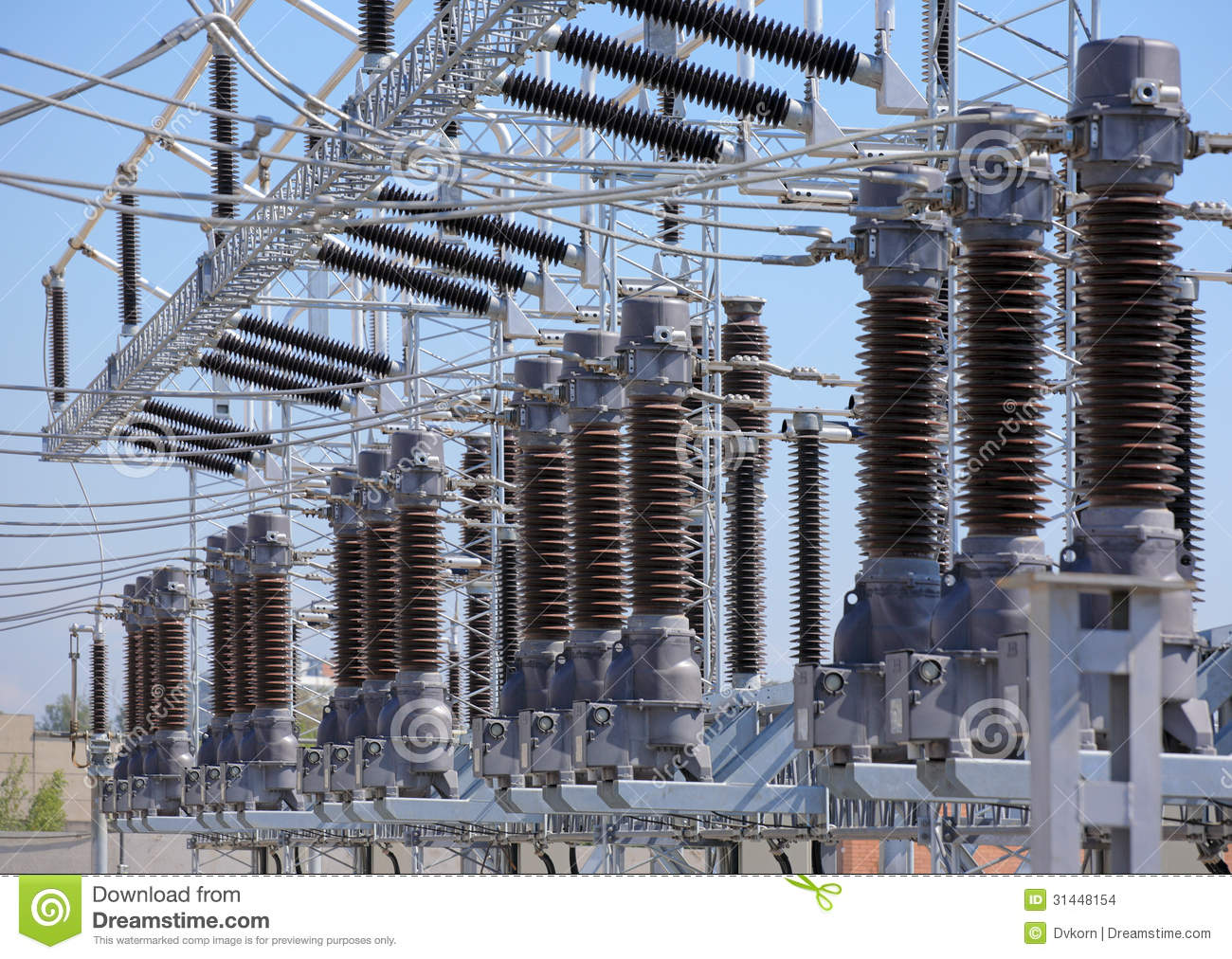Electric Power Station Stock Images - Image: 31448154