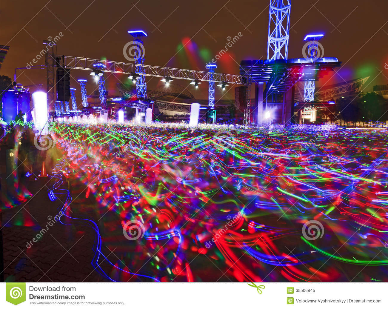 Electric Run Bright stock image. Image of race, olympic ...