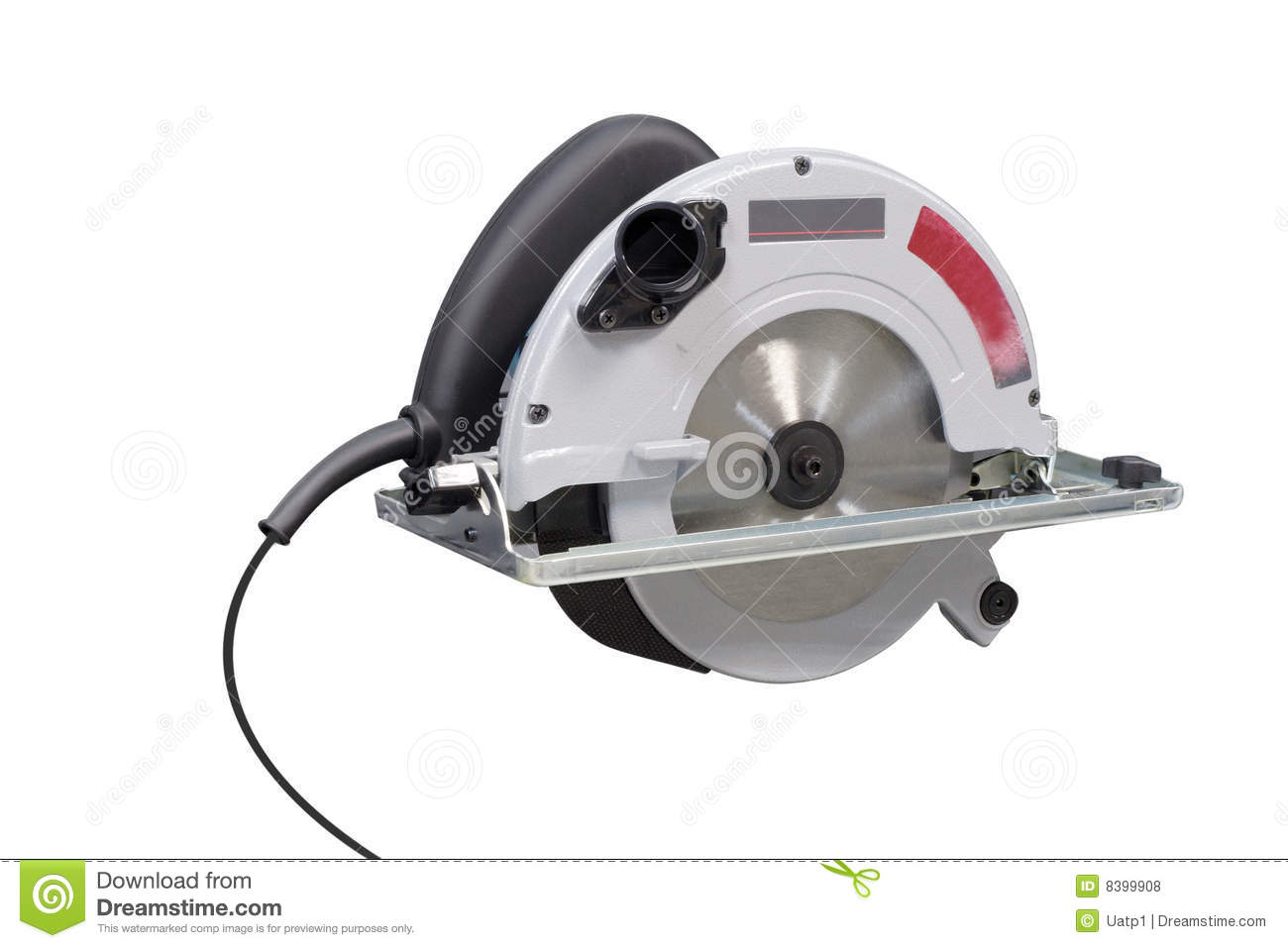 Electric Saw Royalty Free Stock Photos - Image: 8399908