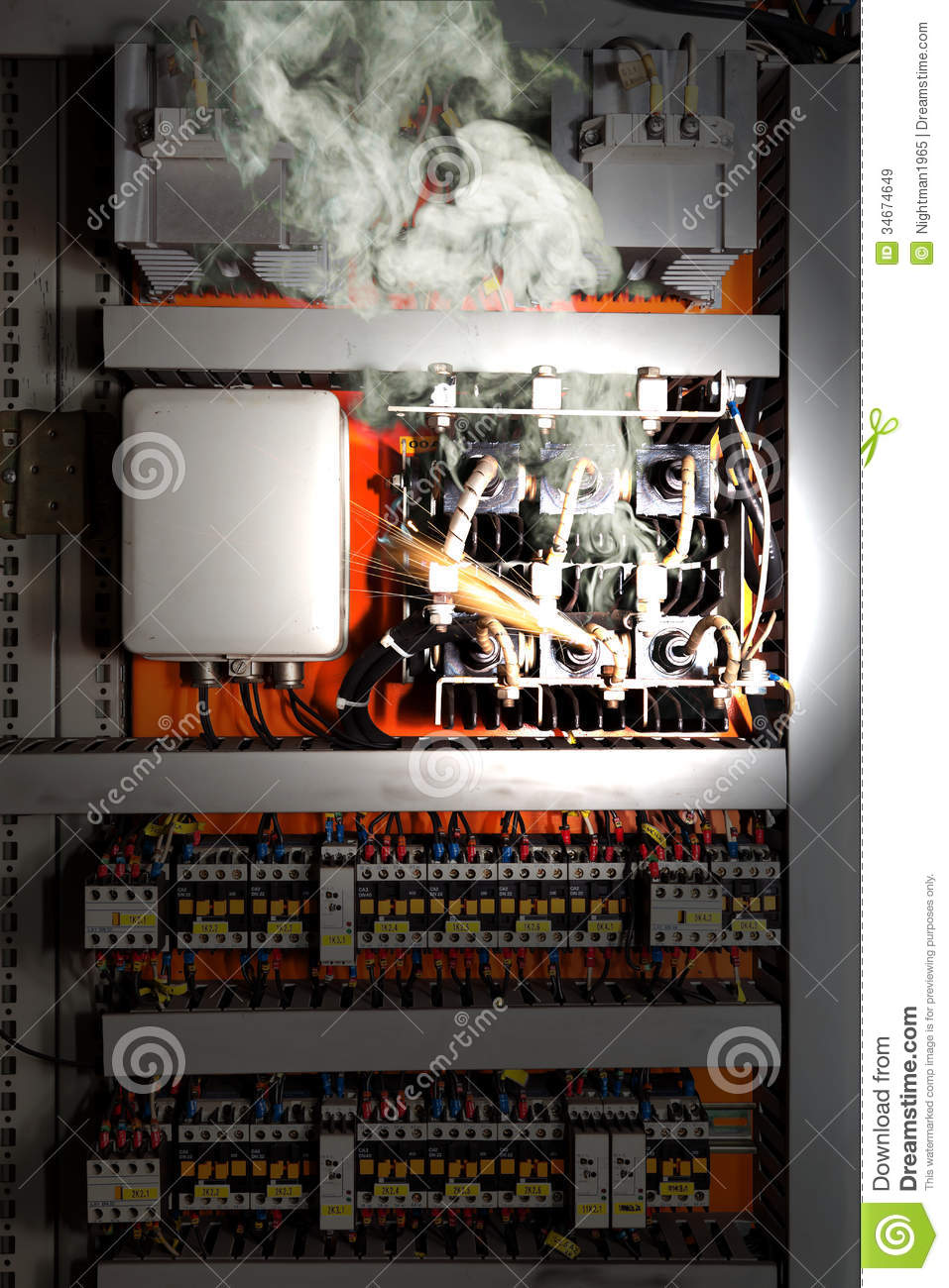 Electric Shock Stock Image  Image Of Construction  Control