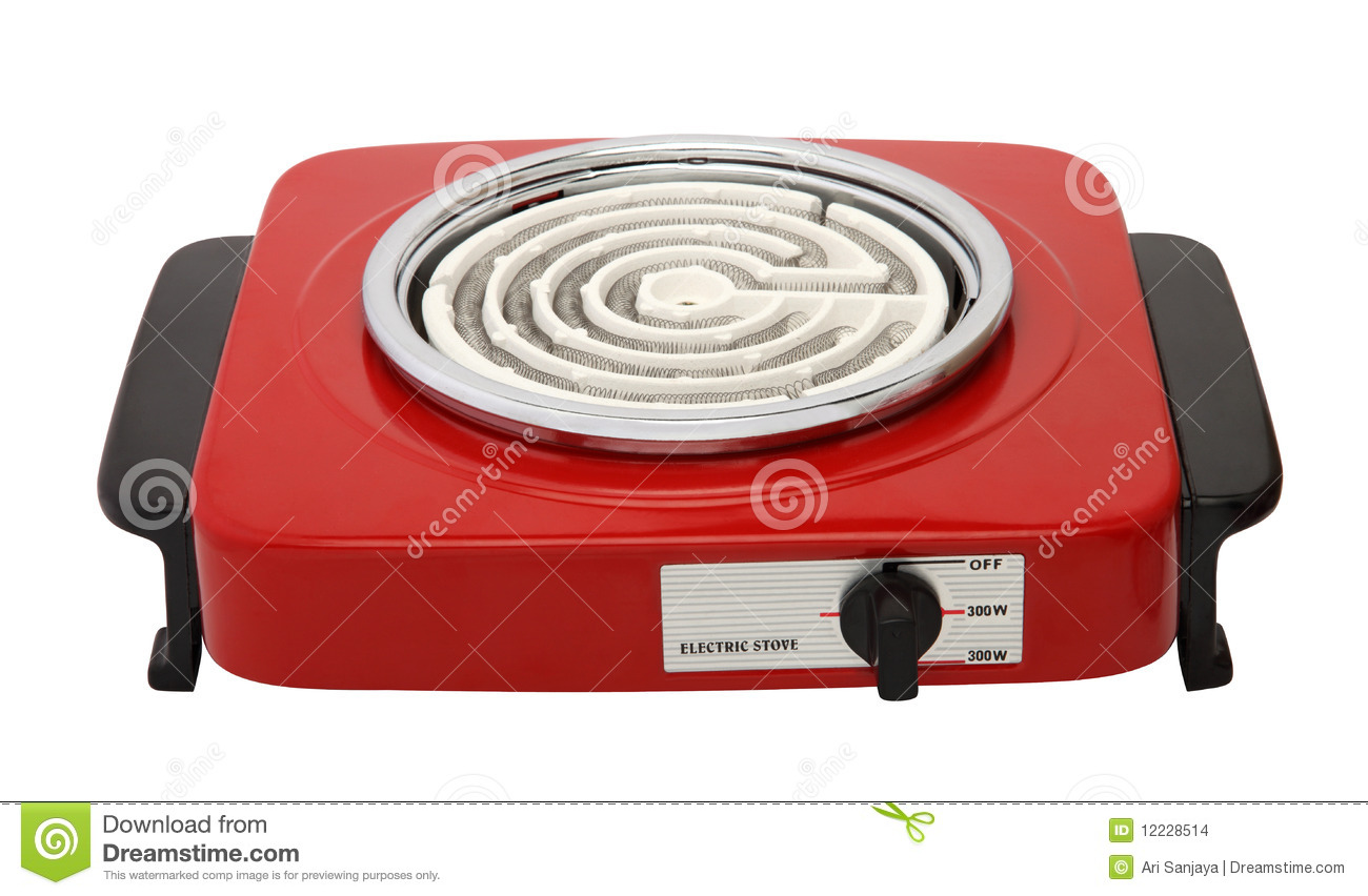 Electric Stove Stock Photo Image Of Heat Home Household 12228514