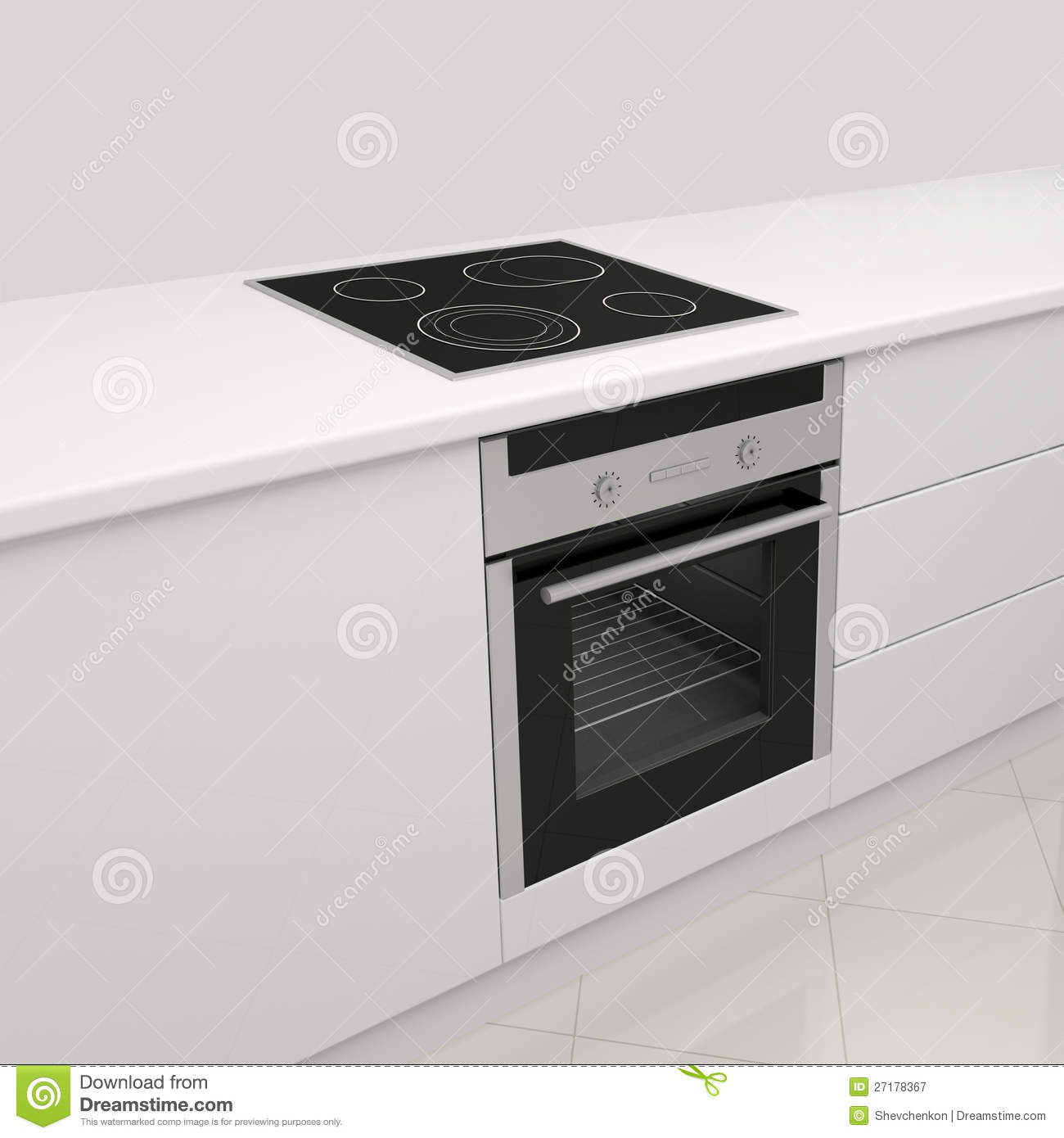 stove and oven. royalty-free stock photo. download electric stove and oven. oven