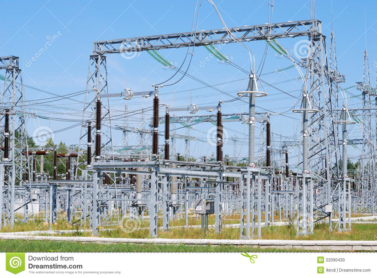 Electricity Substation Stock Photos and Pictures | Getty Images