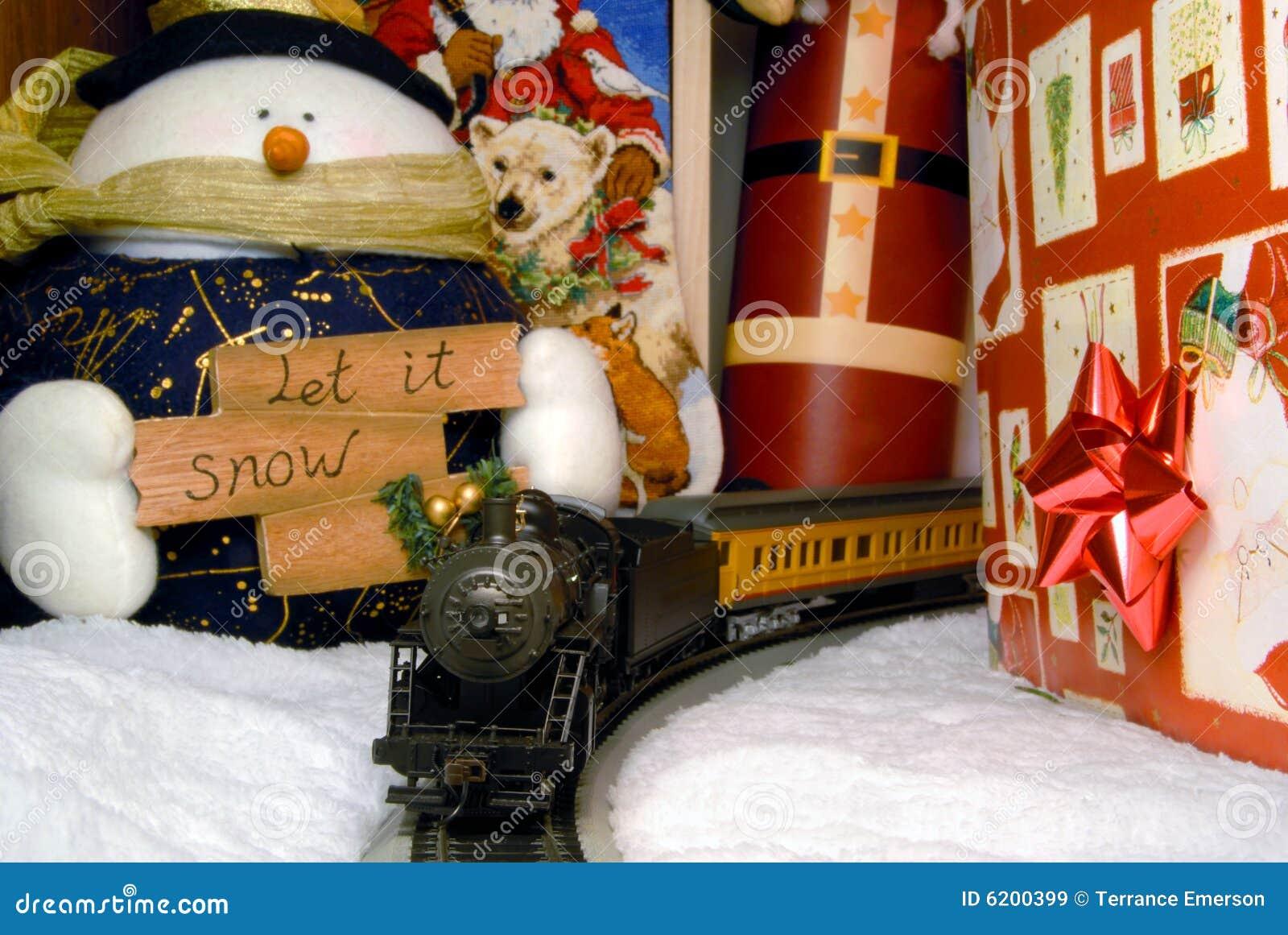 #BF360C Electric Train And Christmas Decoration Royalty Free Stock  6083 decoration de noel train electrique 1300x960 px @ aertt.com