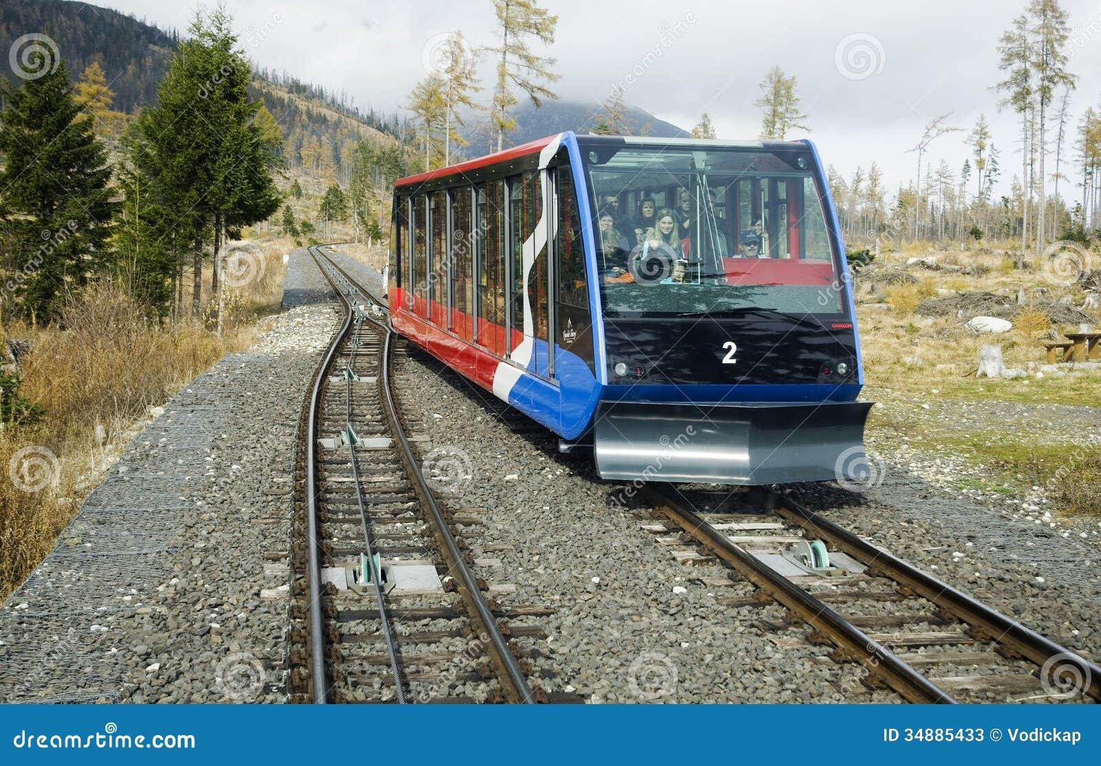 Electric Train In High Tatras Slovakia Editorial Stock