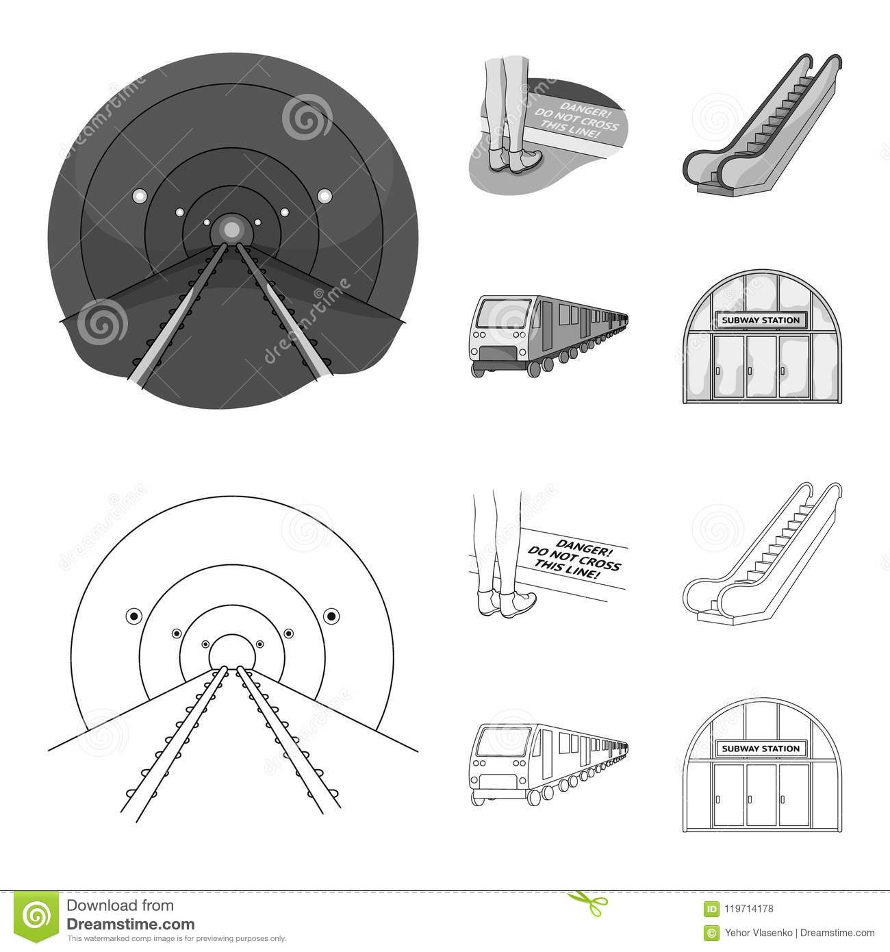 Electric, transport, equipment and other web icon in outline,monochrome style.Public, transportation,machineryicons in