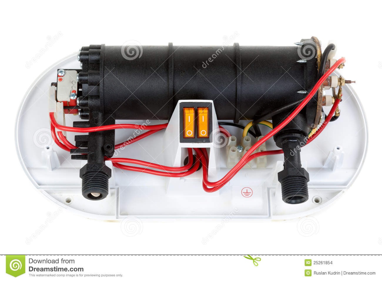 Electric Water Heater Repair Stock Photo Image Of Electrical How To Replace An Download 25261854