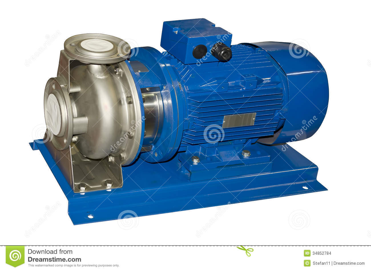 Electric Water Pump Stock Images Image 34852784
