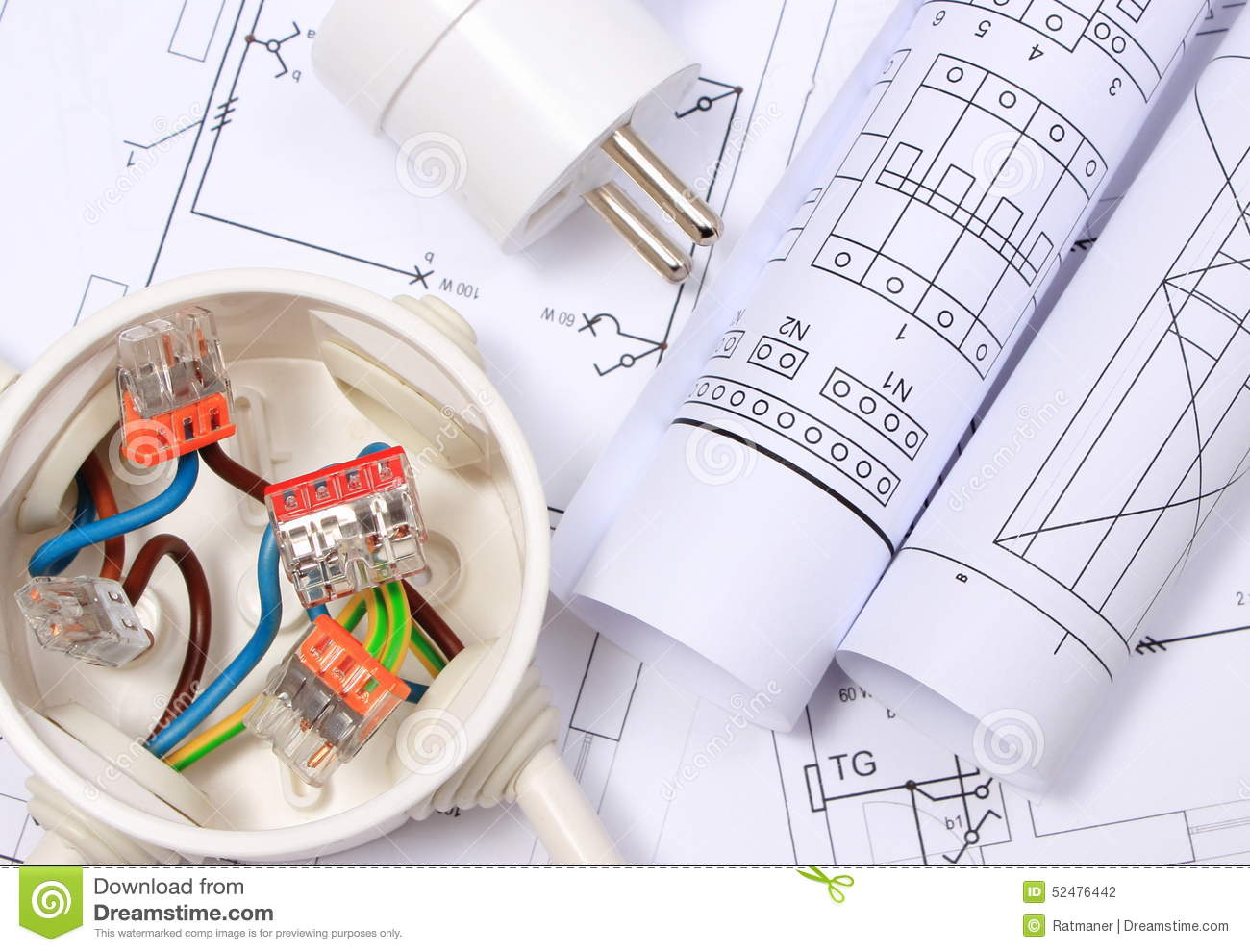 Electrical Box Electric Plug And Diagrams On Construction Drawing House Wiring Job Description