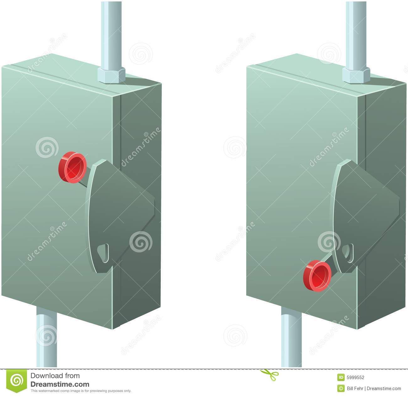 kitchen fuse box stock images image 10108174 electrical box shutoff stock photography