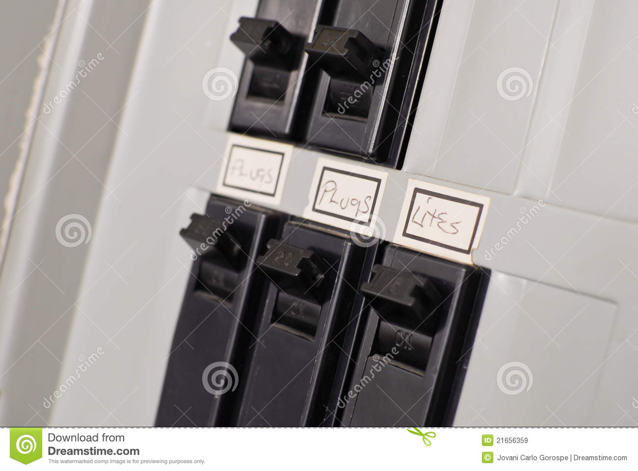 Electrical Breaker Box Switches