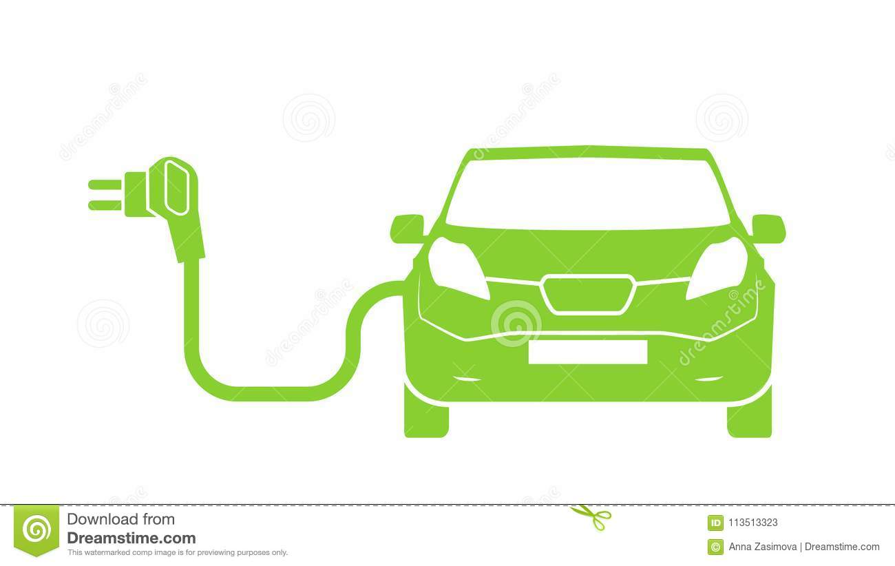 Electrical Charging Station Symbol Electric Car Charging Icon