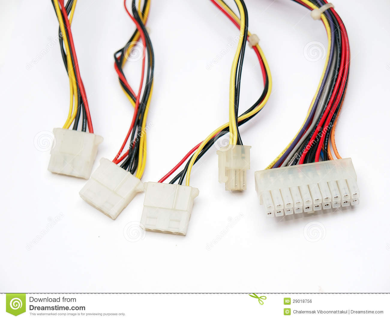 Electrical Connectors Royalty Free Stock Image - Image: 29018756