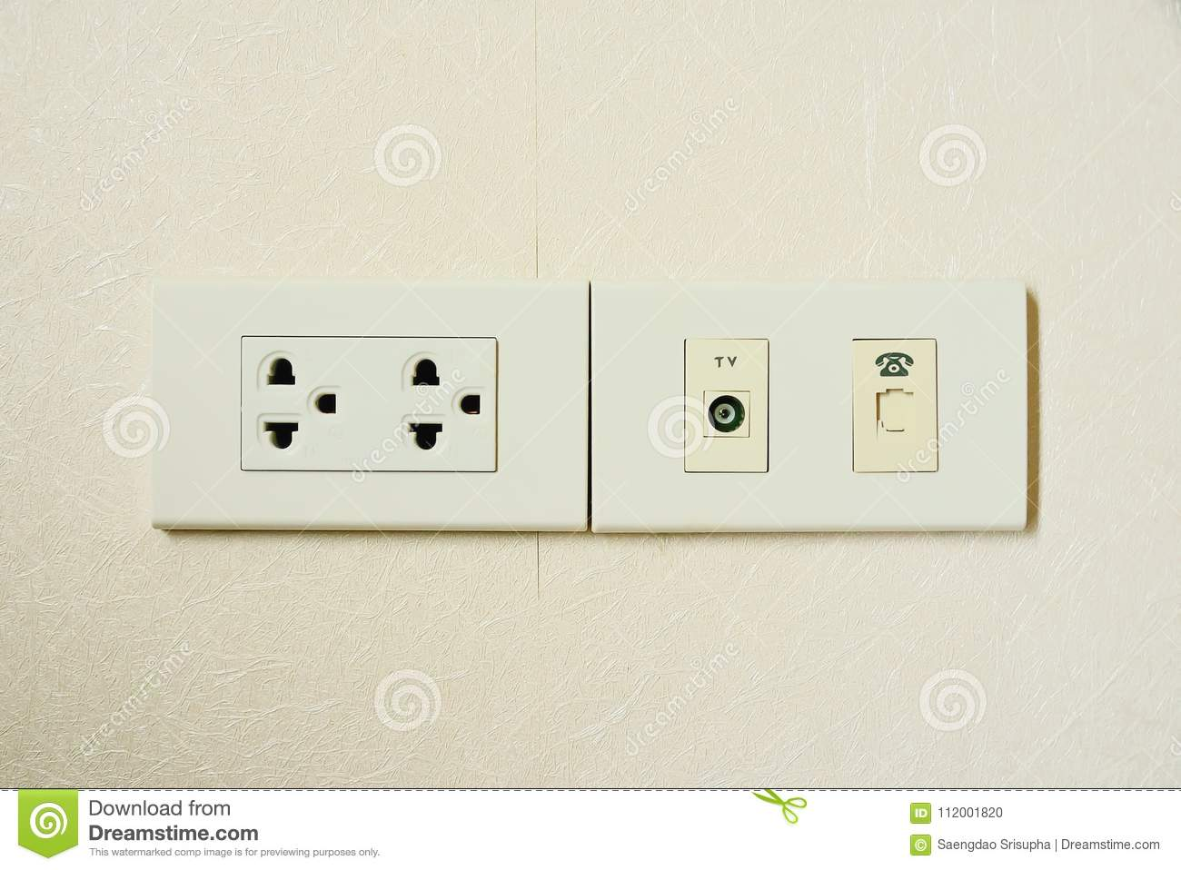 The Electrical Outlet Has Different Characteristics To