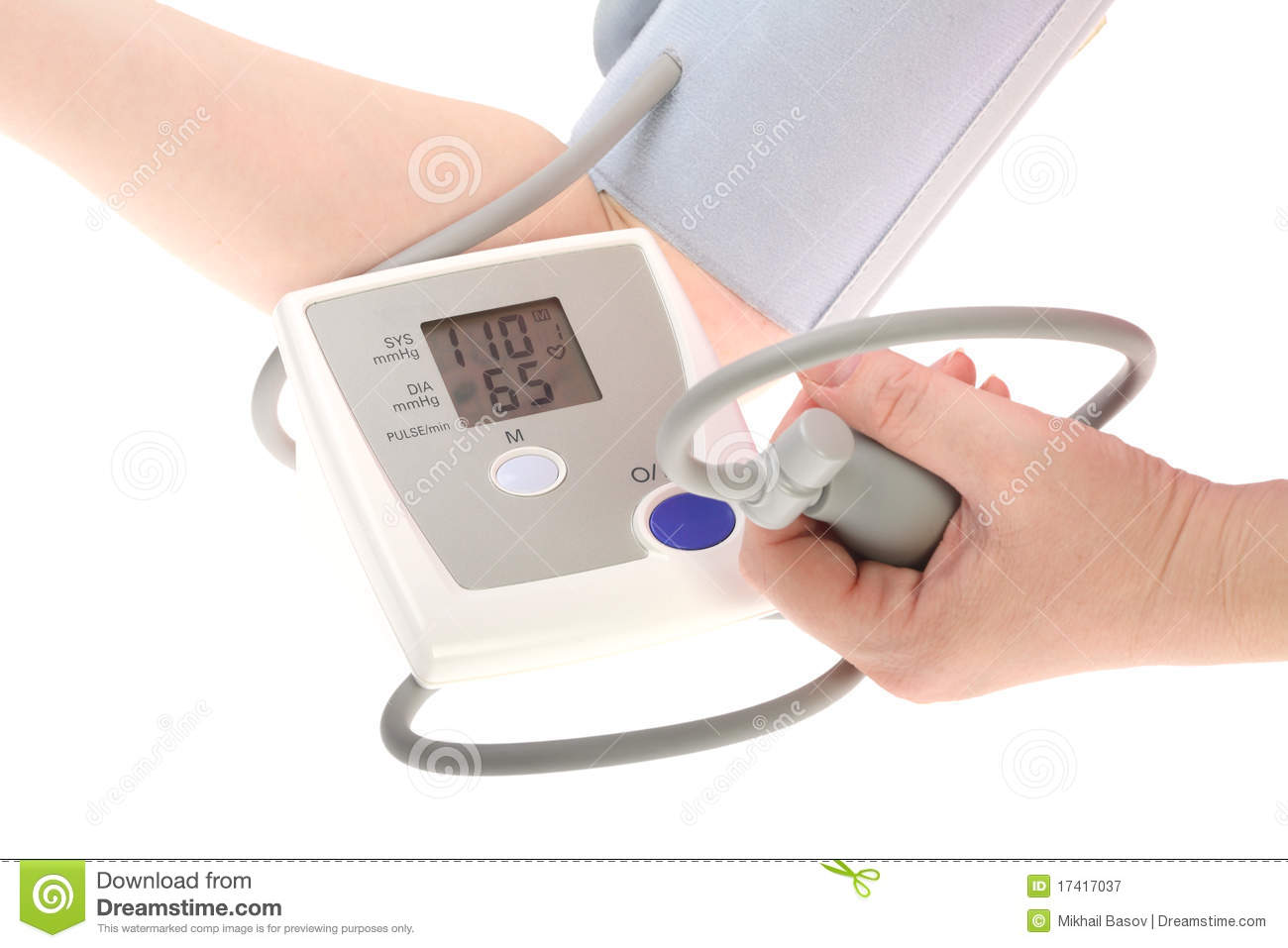 Electrical Measuring Devices : Electrical device for measuring pressure royalty free