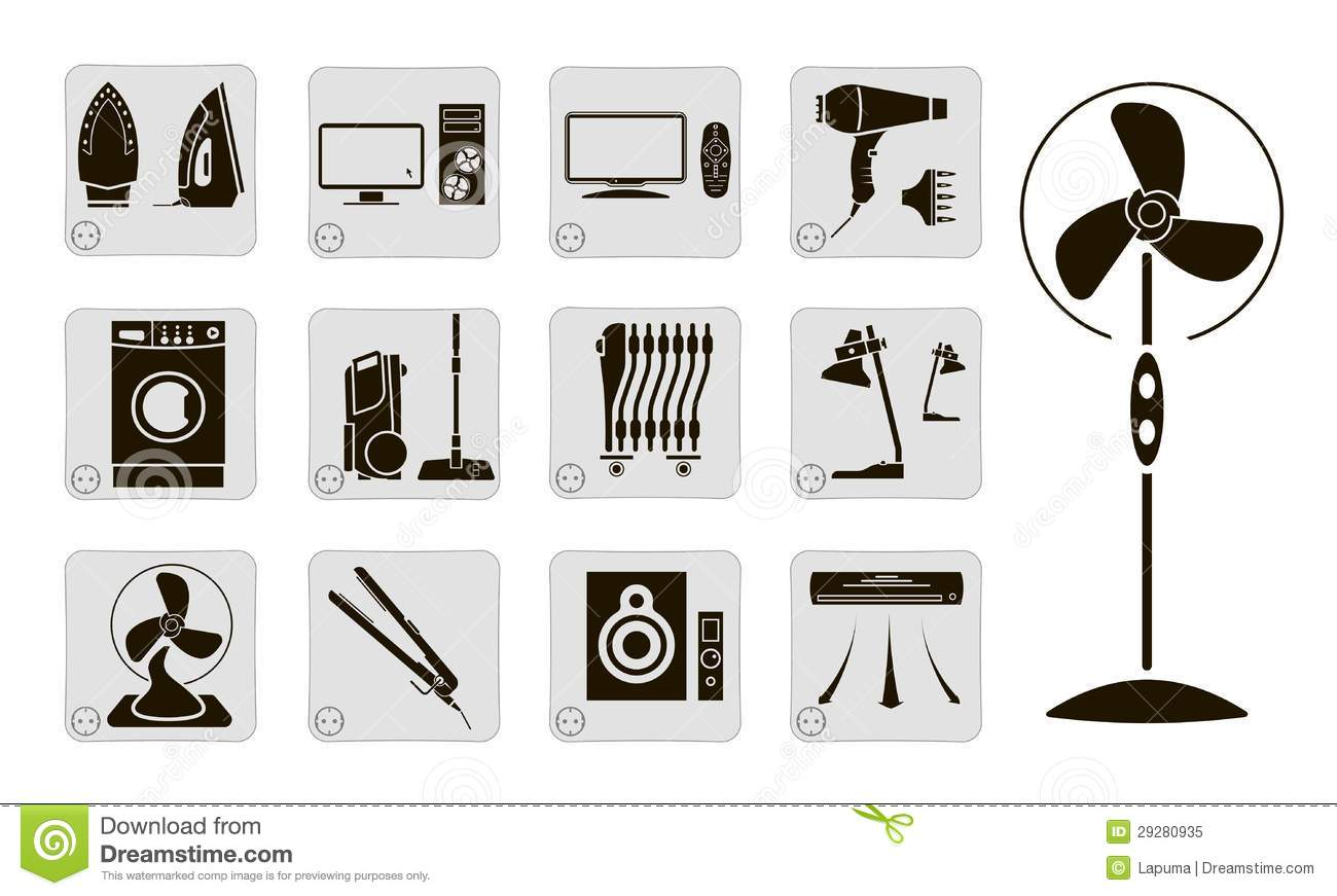 Electrical Devices Royalty Free Stock Photo Image 29280935