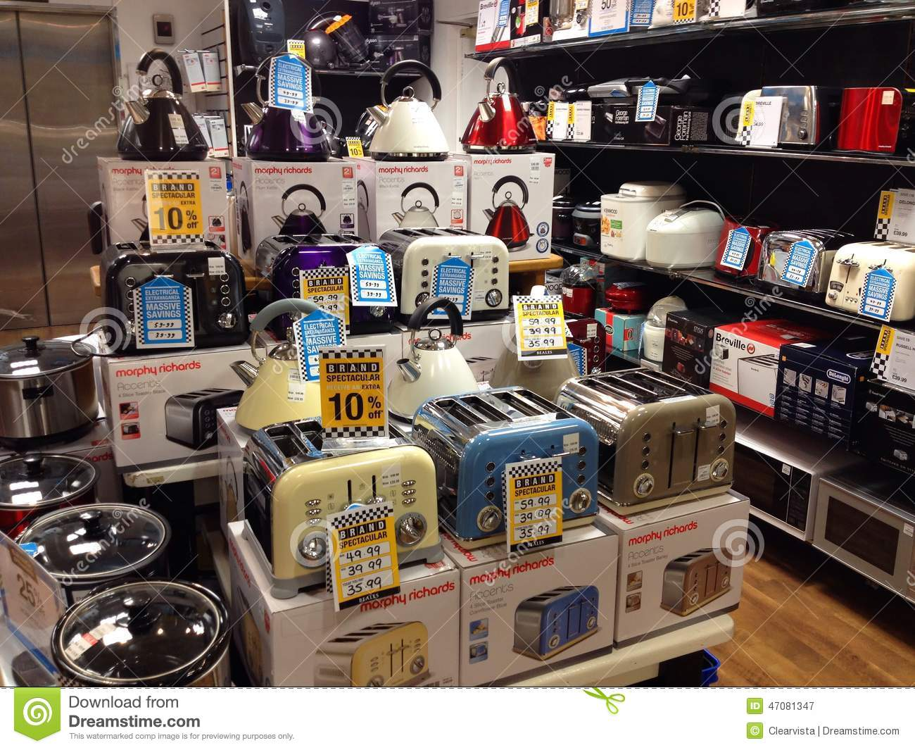 Electrical Domestic Items Toasters And Kettles
