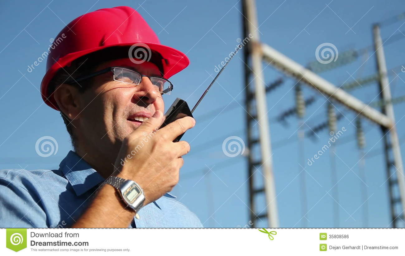Electrical Engineer At Work Stock Video