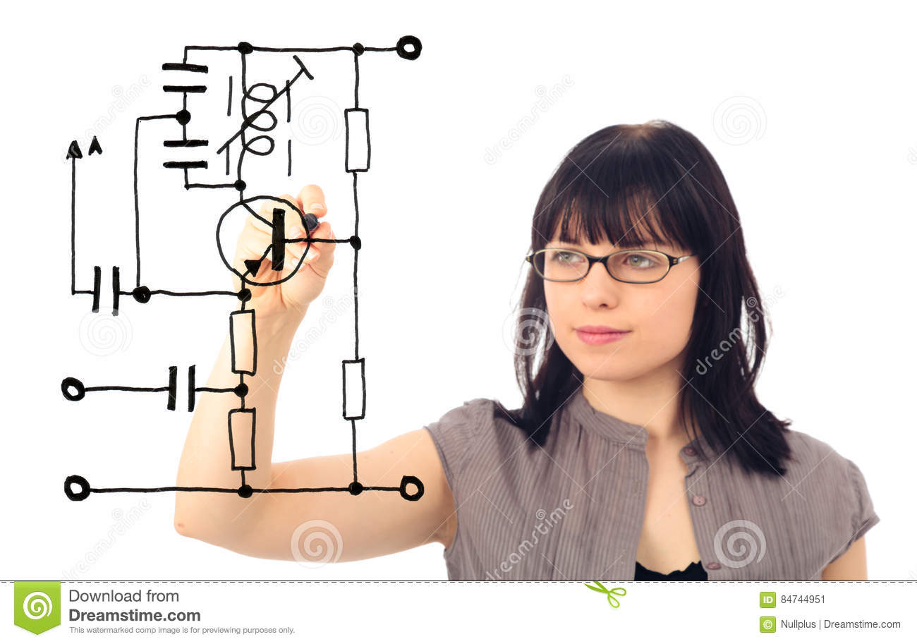 Electrical Engineering Concept Stock Image
