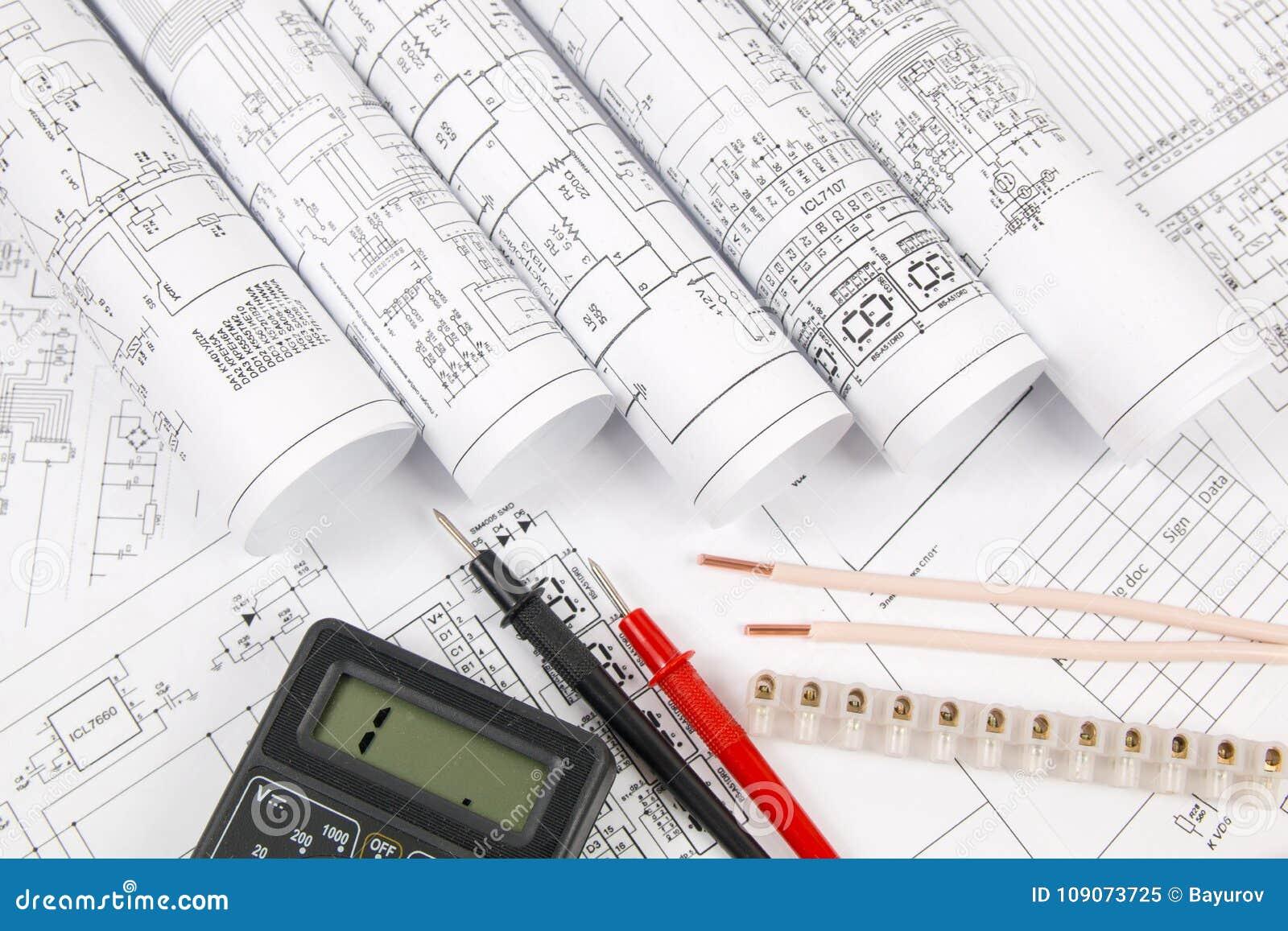 Electrical Engineering Drawings Wire Terminal And Digital Mult Voltmeter Wiring Diagram
