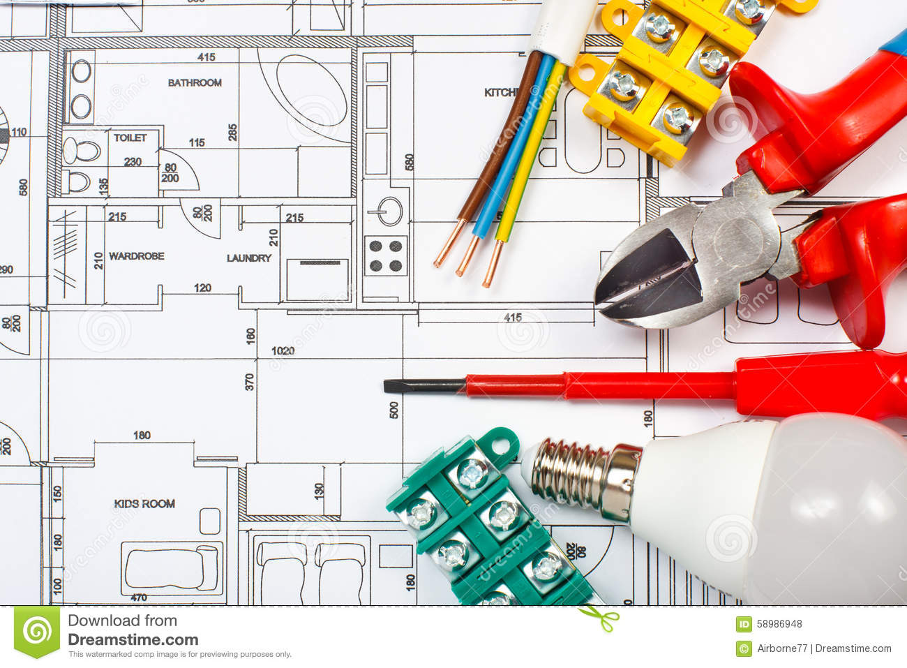 Electrical equipment stock photo image of electrician 58986948 electrical equipment ccuart Image collections