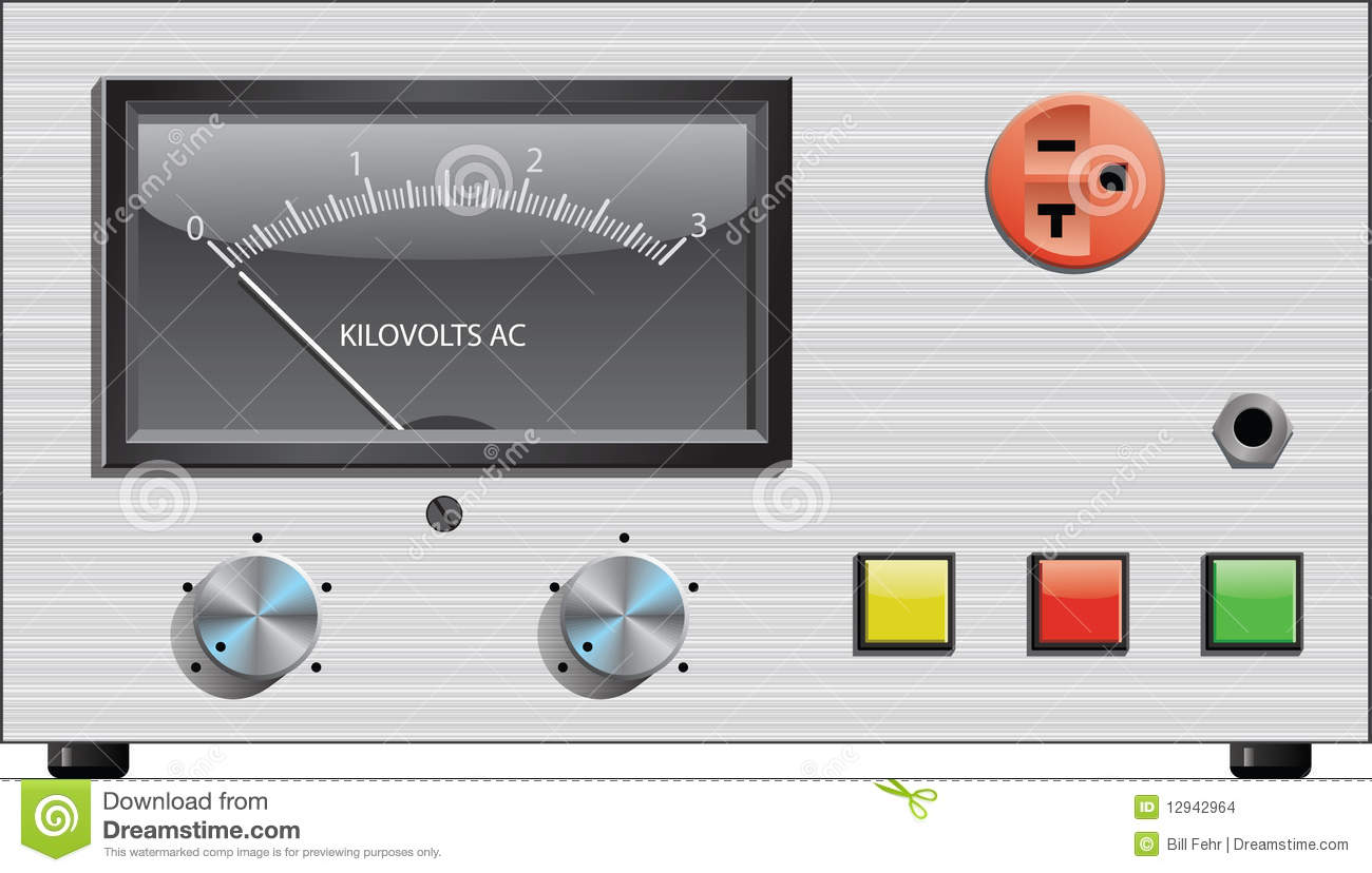 Electrical Measuring Devices : Electrical measuring device stock images image