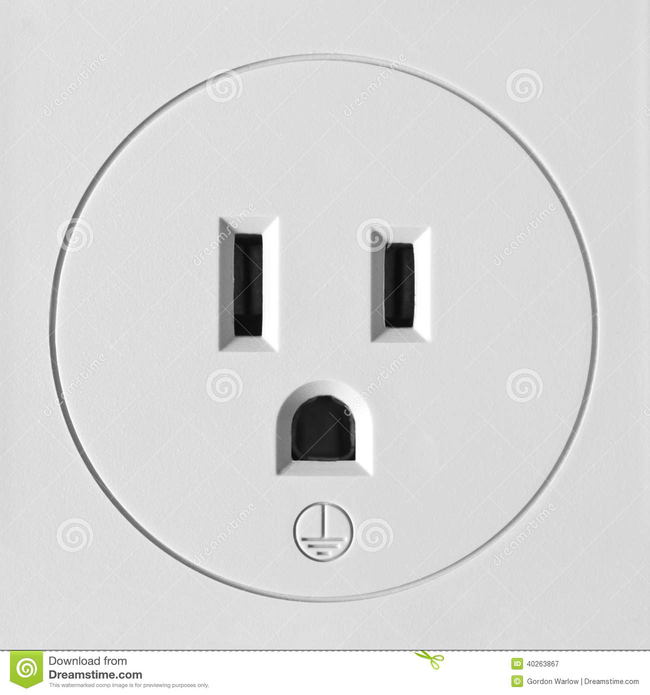 Electrical outlet north america stock image image of power electrical outlet north america biocorpaavc Choice Image