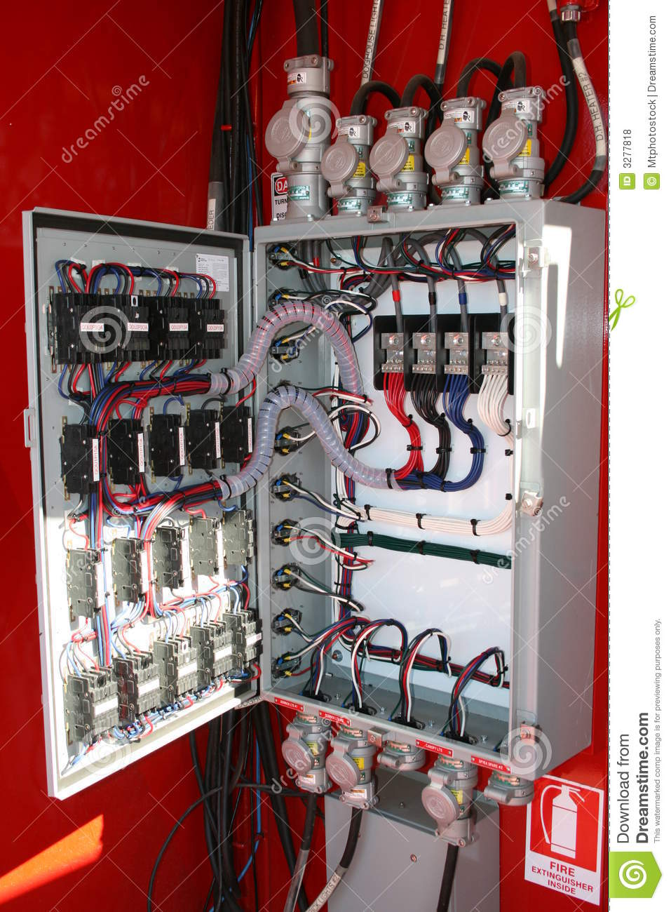 Electrical Panel Board on wiring diagram