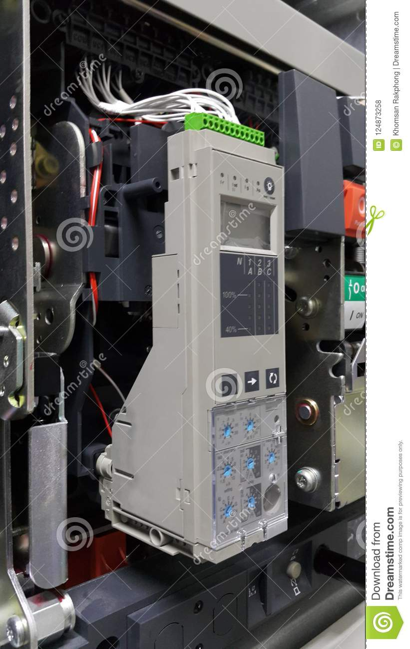 Electrical Part And Accessories In The Control Cabinet Power For Circuit Breaker S Distributorair