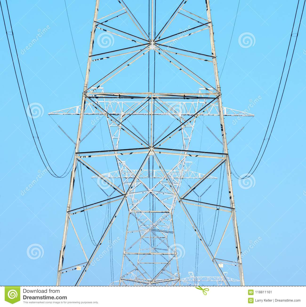 Electrical Power cables and towers