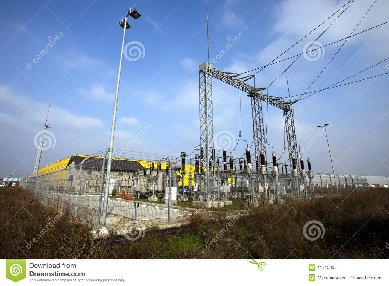 Electrical Power Plant Royalty Free Stock Photo - Image: 11815805