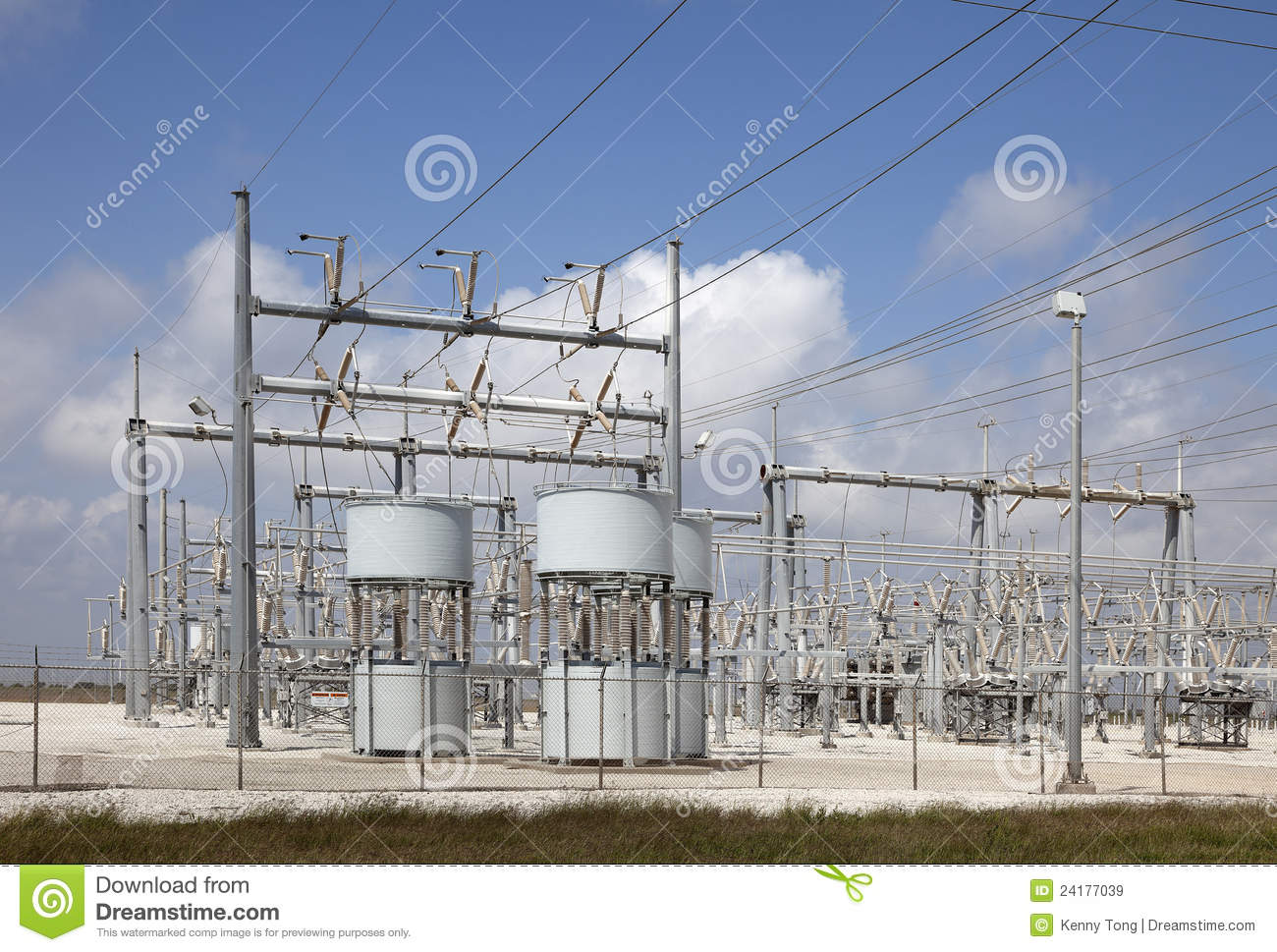 Electrical Power Substation Royalty Free Stock Images - Image ...