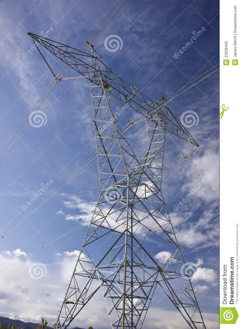 Electrical Power Tower Stock Photos