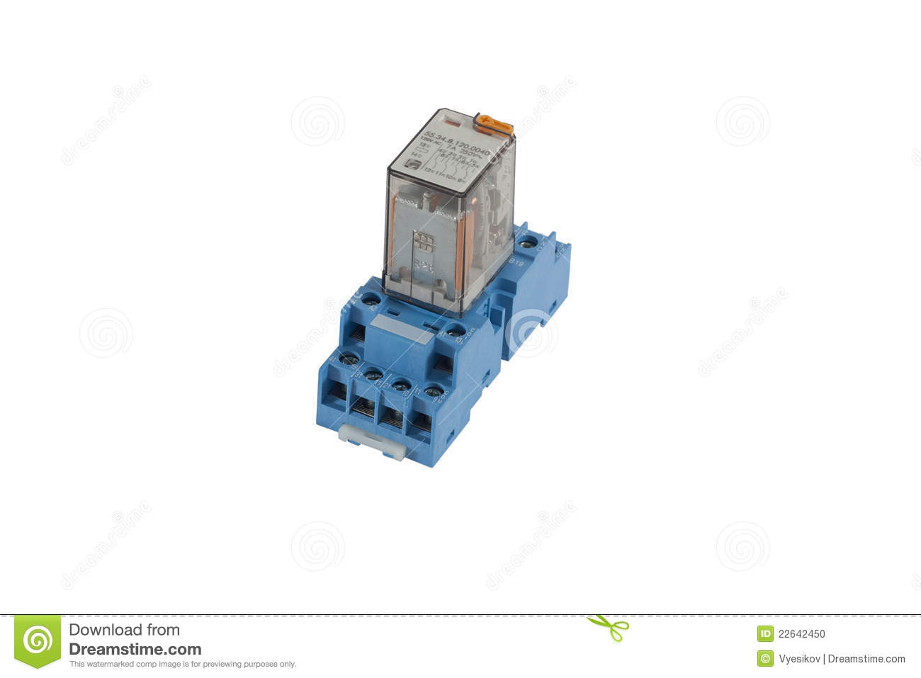 Electrical Relay Stock Photo Image Of Control Automation 22642450 Power Diagram
