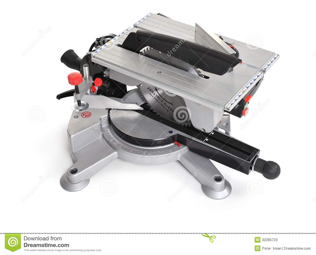 Electrical Saw With Circular Blade For Wood Stock Photos Image 32285723